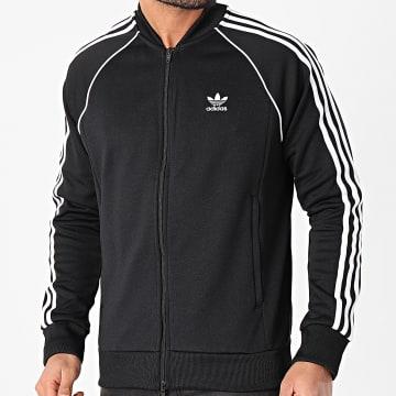 Adidas Originals - Veste Zippée A Bandes Pimeblue SST GF0198 Noir