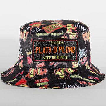 Classic Series - Bob Plata O Plomo Print Noir Orange