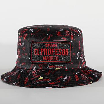 Classic Series - Bob El Profesor Print Noir Rouge