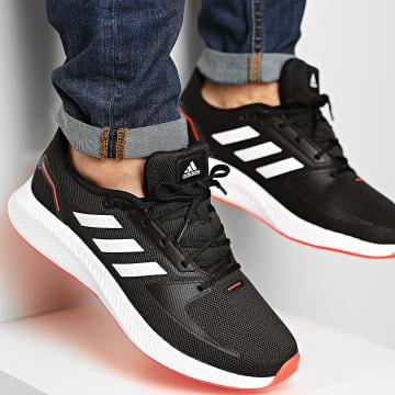 Adidas Performance - Baskets RunFalcon 2 FZ2803 Core Black Footwear White Solar Red