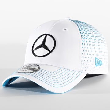 New Era - Casquette 9Forty Mercedes Benz Stoffel Replica 940 12651422 Blanc Bleu