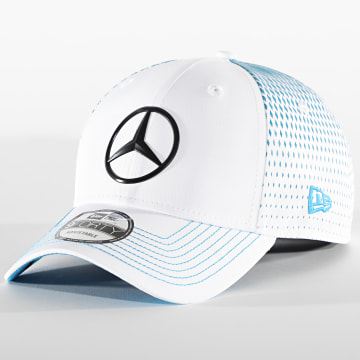 New Era - Casquette 9Forty Mercedes Benz Nick De Vries Replica 12651428 Blanc Bleu