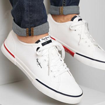 Pepe Jeans - Baskets Kenton Smart PMS30700 White