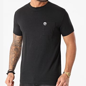 Timberland - Tee Shirt A Poche Dun Riv Noir