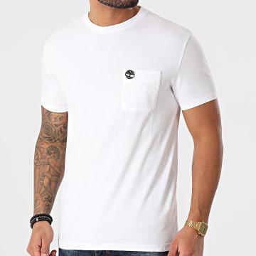 Timberland - Tee Shirt A Poche Dun Riv Blanc