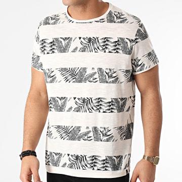 Blend - Tee Shirt 20711685 Ecru Floral