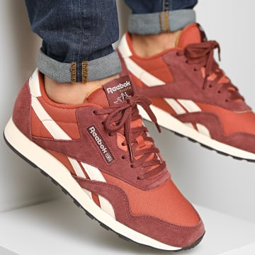 Reebok - Baskets Classic Nylon FY7523 Rich Red Baked Earth Chalk