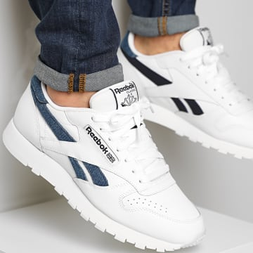 Reebok - Baskets Classic Leather FY9407 Footwear White Chalk Vector Navy