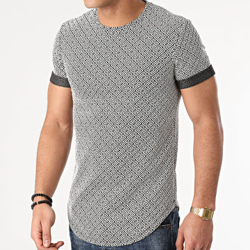 Uniplay - Tee Shirt Oversize UY571 Noir Blanc Renaissance