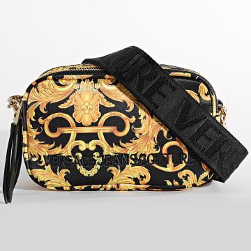 Versace Jeans Couture - Sacoche Renaissance Femme E1VWABT1-71885 Noir Jaune