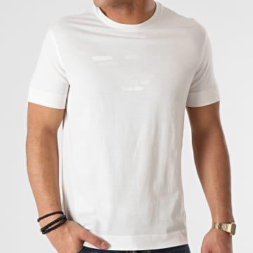 Emporio Armani - Tee Shirt 3K1TE6-1JSHZ Blanc Cassé