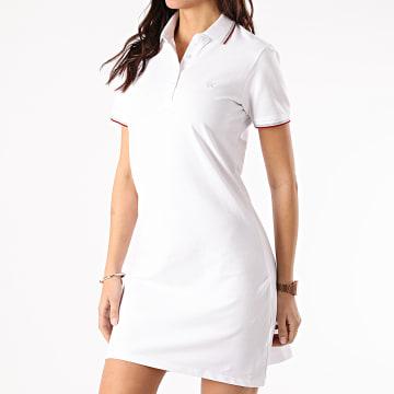 Kaporal - Robe Polo Manches Courtes Femme PIKAW22 Blanc