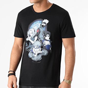 Naruto - Tee Shirt Naruto Team Noir