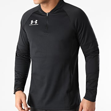 Under Armour - Tee Shirt Manches Longues 1346918 Noir