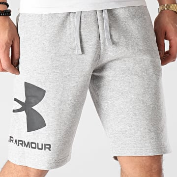 Under Armour - Short Jogging 1357118 Gris Chiné