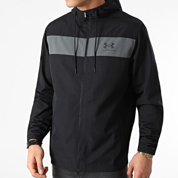 Under Armour - Veste Zippée Capuche 1361621 Noir
