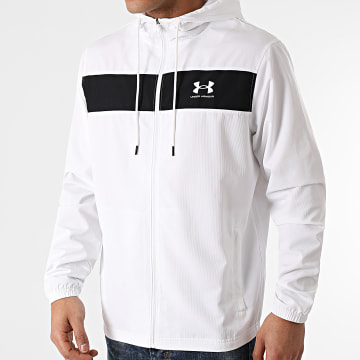 Under Armour - Veste Zippée Capuche 1361621 Blanc