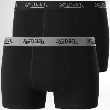 Von Dutch - Lot De 2 Boxers Basic Noir