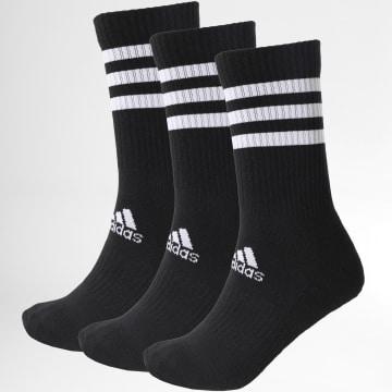 Adidas Performance - Lot De 3 Paires De Chaussettes 3-Stripes DZ9347 Noir
