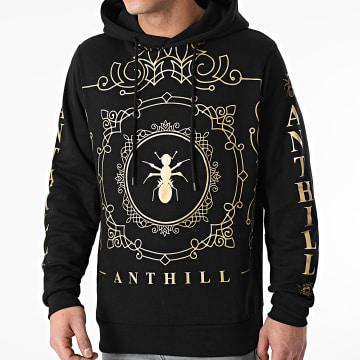 Anthill - Sweat Capuche Decorum Noir