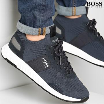BOSS - Baskets Titanium Runner 50440734 Dark Blue