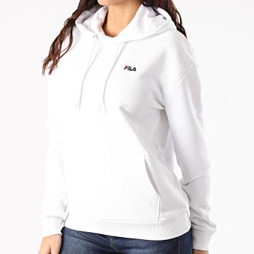 Fila - Sweat Capuche Femme Ebba 688052 Blanc