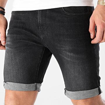 G-Star - Short Jean Slim 3301 D10481-A634 Gris Anthracite