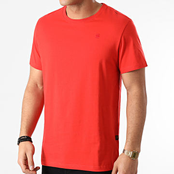 G-Star - Tee Shirt Base-S D16411-336 Rouge