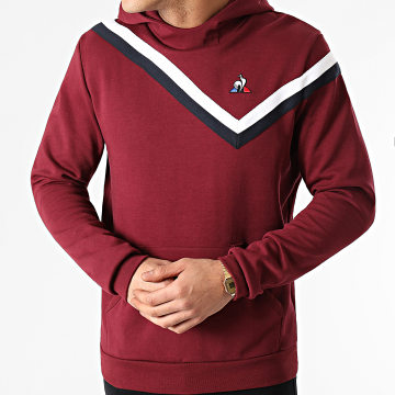 Le Coq Sportif - Sweat Crewneck Tricolore N3 2110502 Bordeaux