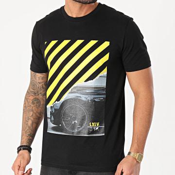 Luxury Lovers - Tee Shirt Gamos Noir Jaune