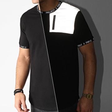 Project X - Tee Shirt Oversize 2110148 Noir Réfléchissant