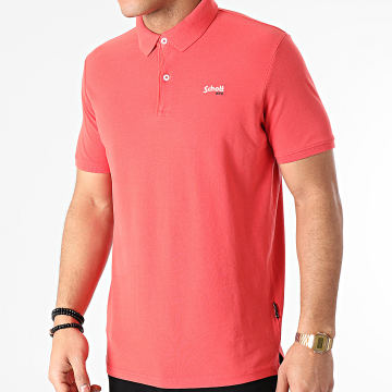 Schott NYC - Polo Manches Courtes PSJAMES2 Corail