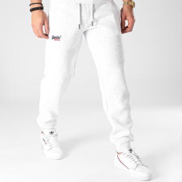 Superdry - Pantalon Jogging OL Classic M7010512A Gris Clair Chiné