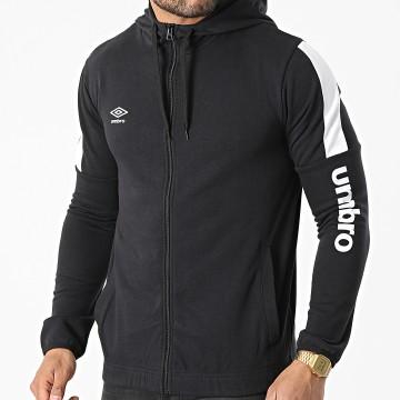 Umbro - Sweat Zippé Capuche 771900-60 Noir