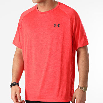 Under Armour - Tee Shirt 1326413 Rouge Chiné