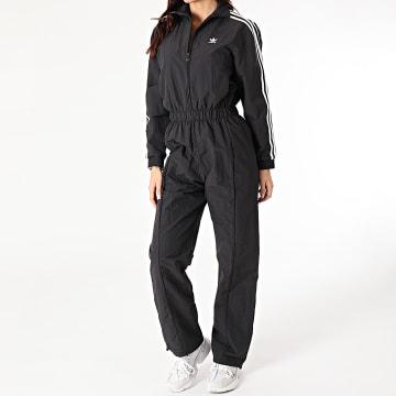 Adidas Originals - Combinaison Femme A Bandes Boiler GN2781 Noir