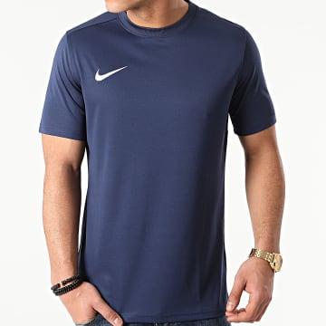 Nike - Tee Shirt De Sport Park VII Bleu Marine