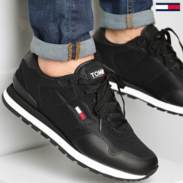 Tommy Jeans - Baskets Lifestyle Mix Runner 0668 Black