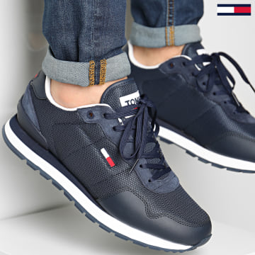 Tommy Jeans - Baskets Lifestyle Mix Runner 0668 Twilight Navy