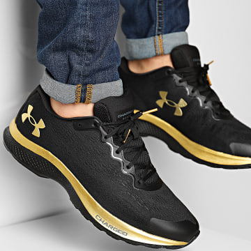 Under Armour - Baskets Charged Bandit 6 3023019 Black Gold