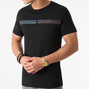 Calvin Klein - Tee Shirt 7165 Noir Iridescent