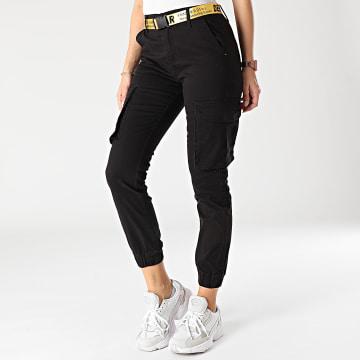 Girls Outfit - Jogger Pant Femme J818-1 Noir