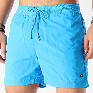 Tommy Hilfiger - Short De Bain Medium Drawstring 2041 Bleu Clair