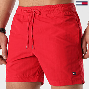 Tommy Hilfiger - Short De Bain Medium Drawstring 2041 Rouge