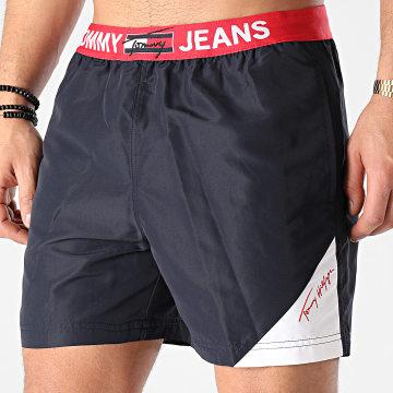 Tommy Jeans - Short De Bain Medium Drawstring 2067 Bleu Marine