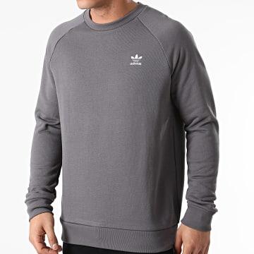 Adidas Originals - Sweat Crewneck Essential GN3411 Gris Anthracite