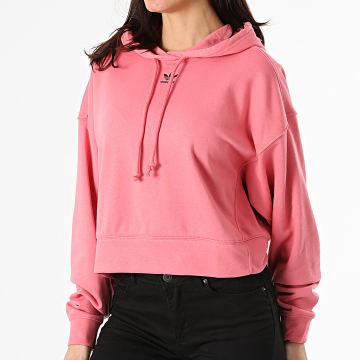 Adidas Originals - Sweat Capuche Femme H13875 Rose