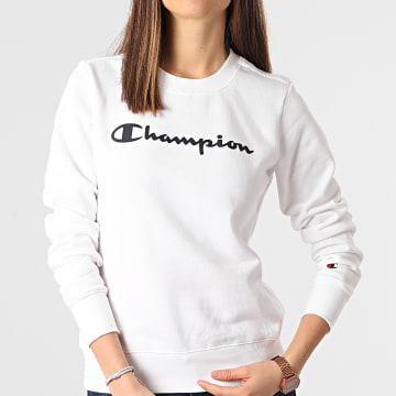 Champion - Sweat Crewneck 112585 Blanc