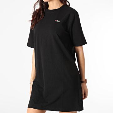 Fila - Robe Tee Shirt Femme Elle 688436 Noir
