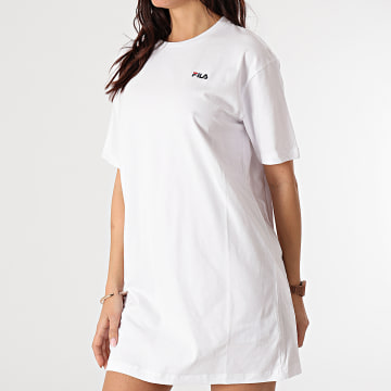 Fila - Robe Tee Shirt Femme Elle 688436 Blanc